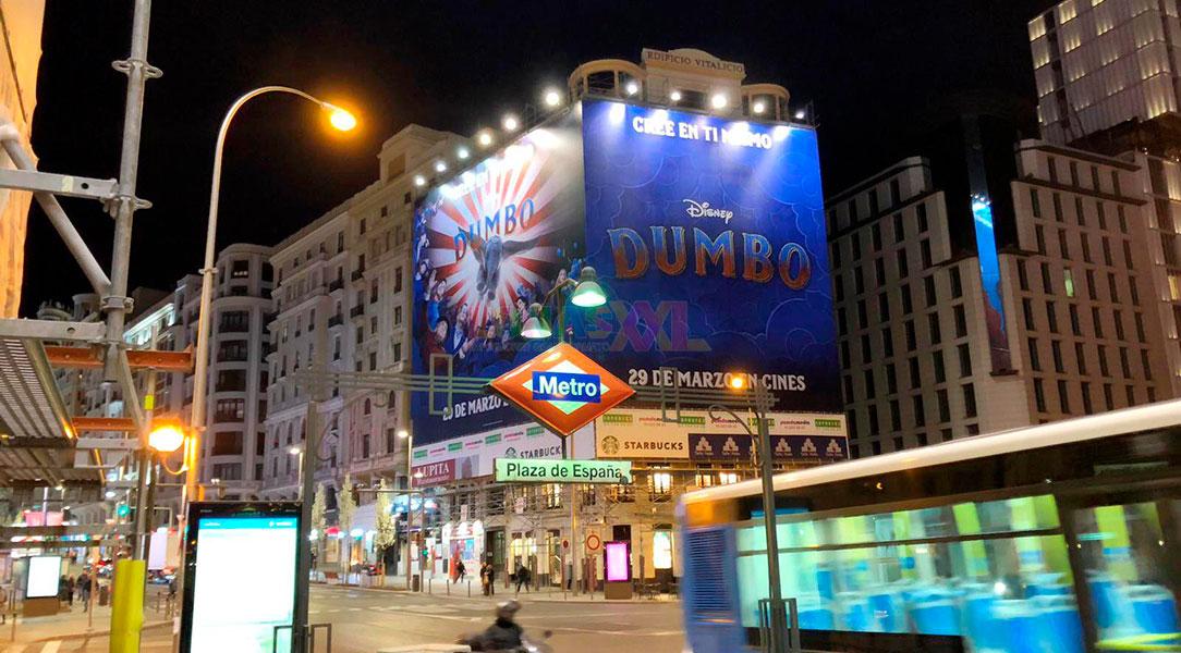 Lona impresa Dumbo