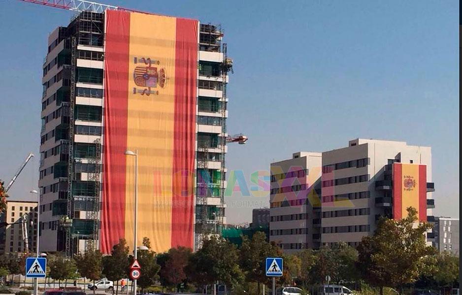 Lona Impresa Bandera Gigante España