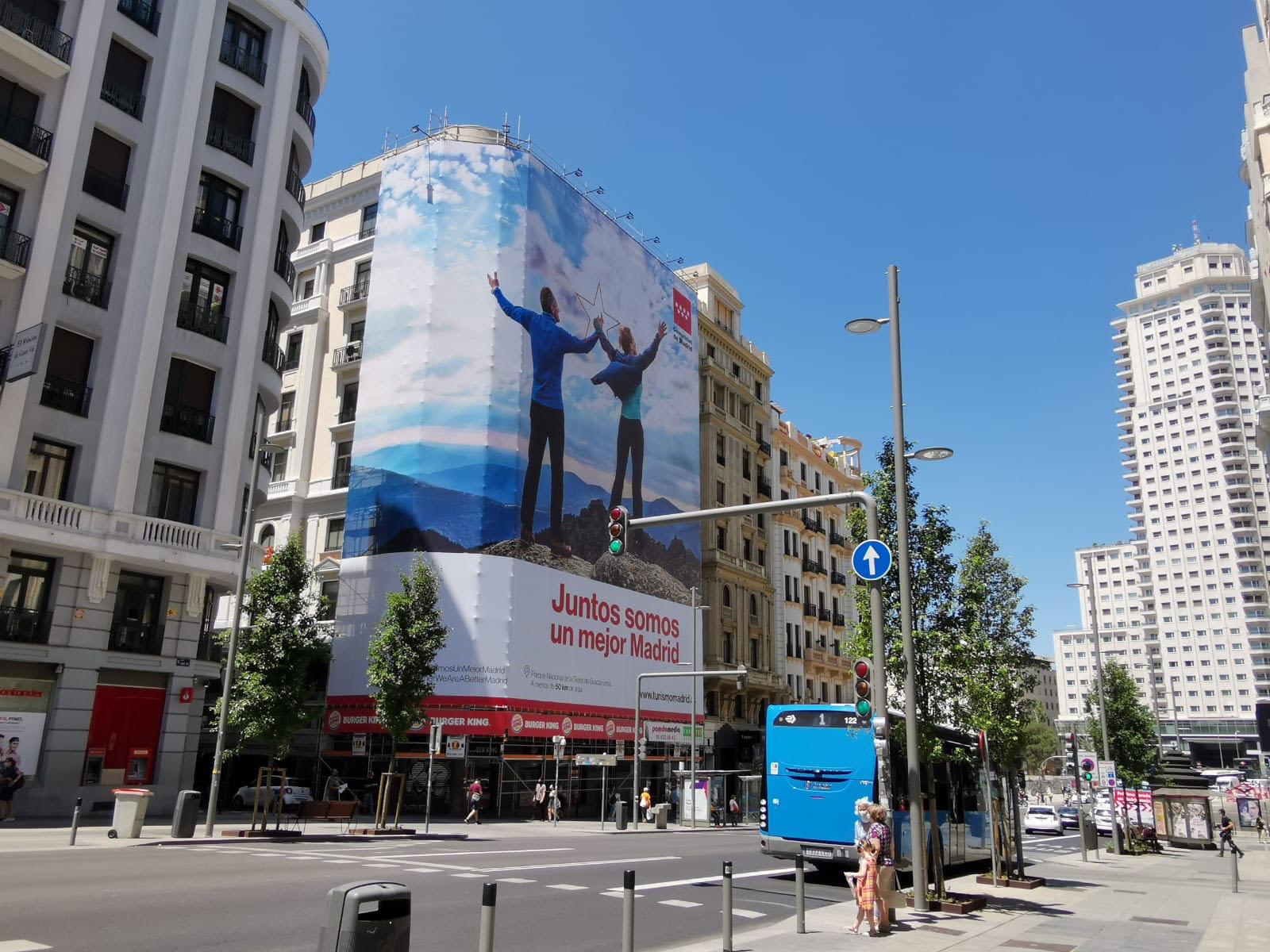 Lona gigante Madrid