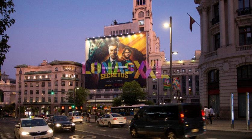 Lona Orígenes Secretos Madrid