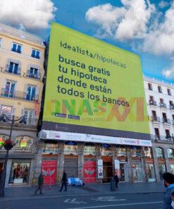 Lona Idealista Madrid