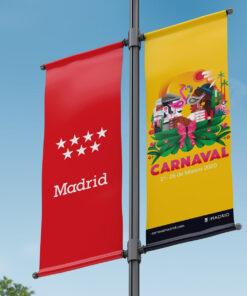 Banderolas publicitarias Madrid