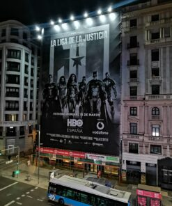 Lona La Liga de la justicia HBO
