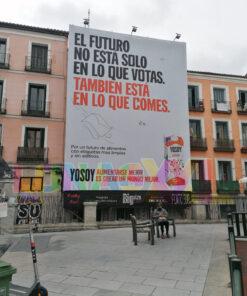 Lona publicitaria Madrid