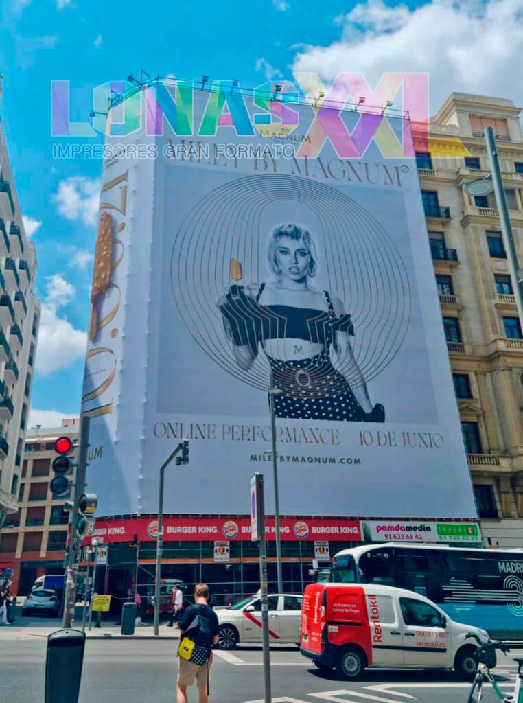 Lona Magnum Madrid