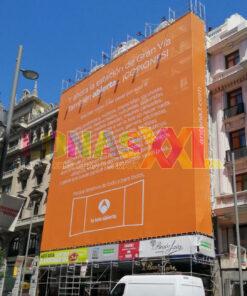 Lona Antena3 Gran Vía de Madrid