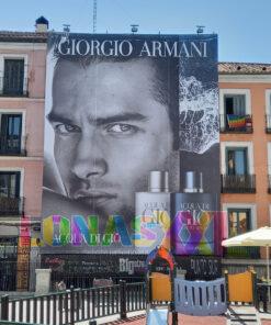 Lona Giorgio Armani Madrid